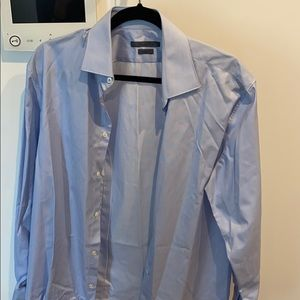 Light blue John Varvatos shirt